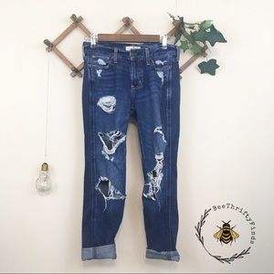 Sale Hollister | Distressed Boyfriend Jeans